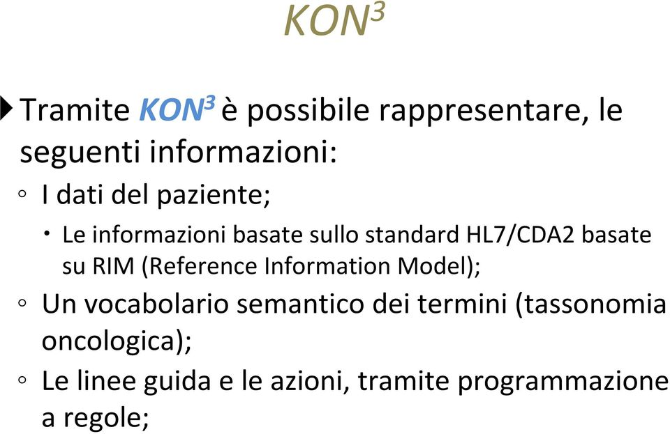 RIM (Reference Information Model); Un vocabolario semantico dei termini
