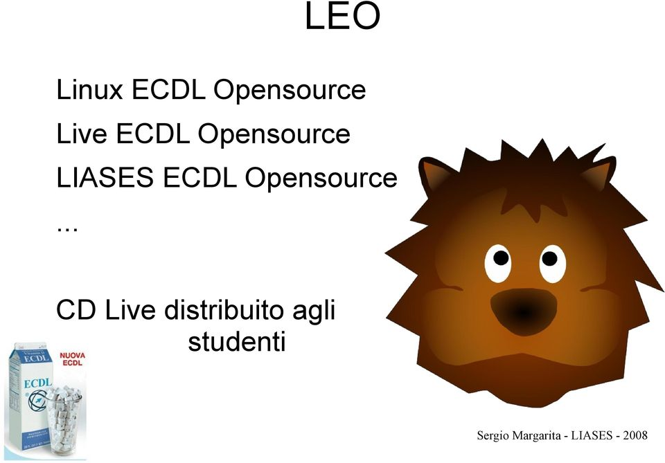 LIASES ECDL Opensource.