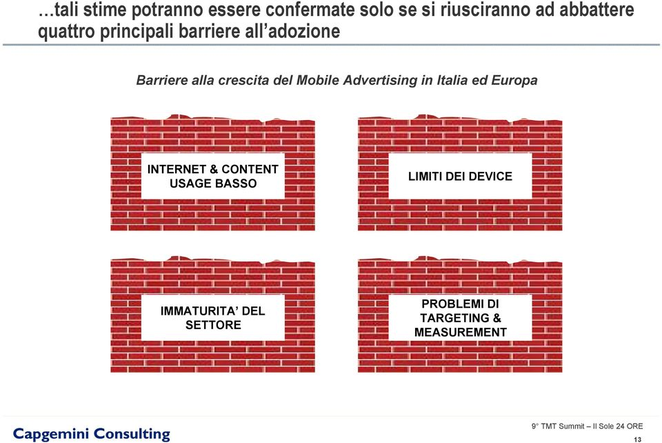 crescita del Mobile Advertising in Italia ed Europa INTERNET & CONTENT