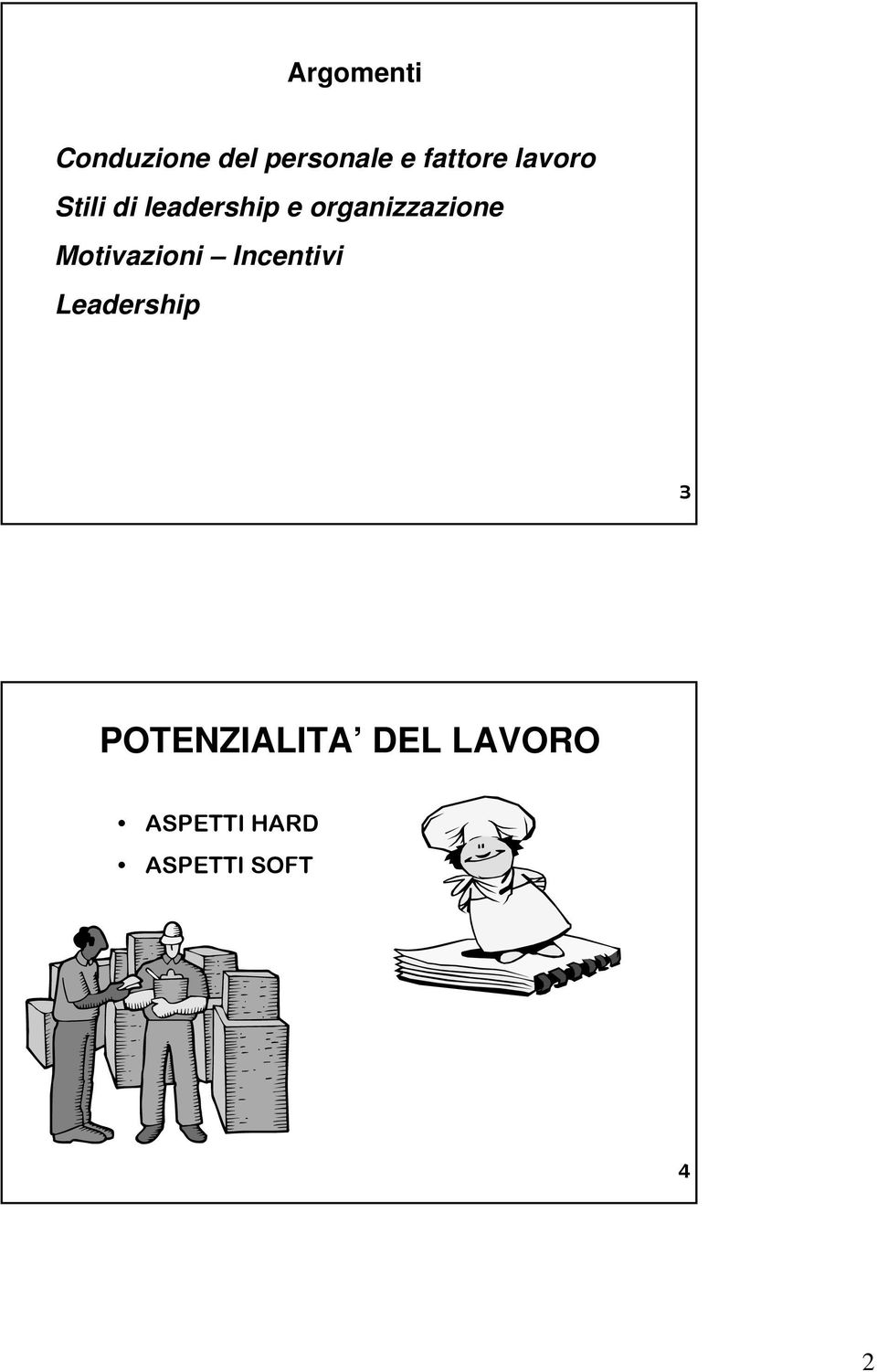 Motivazioni Incentivi Leadership 3