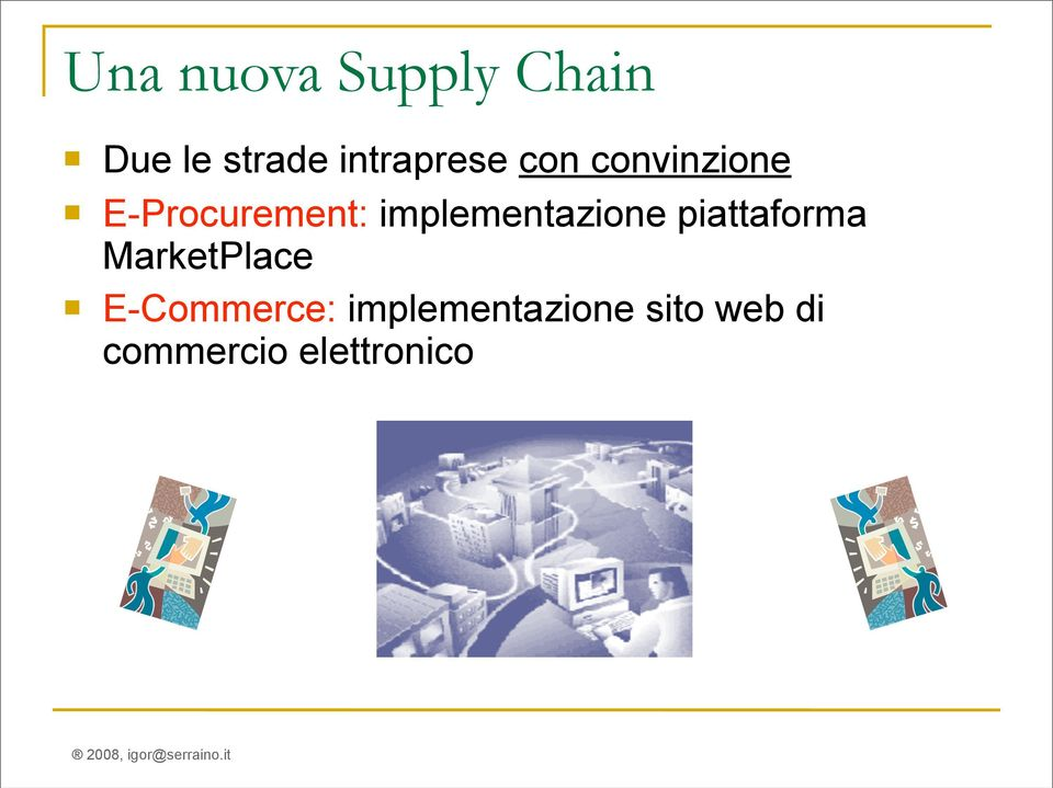 implementazione piattaforma MarketPlace