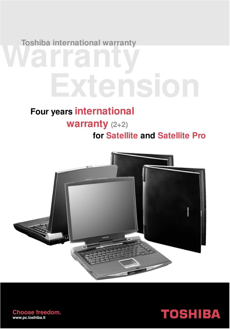 international warranty (2+2)