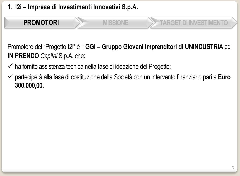 ed IN PRENDO Capital S.p.A.