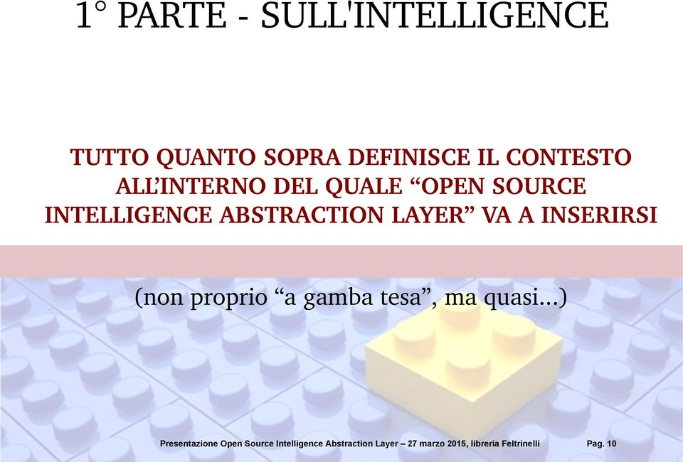 SOURCE INTELLIGENCE ABSTRACTION LAYER VA A
