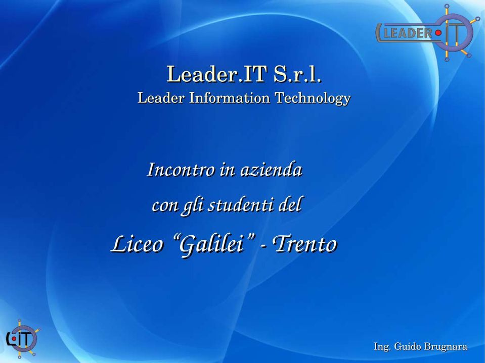 Technology Incontro in