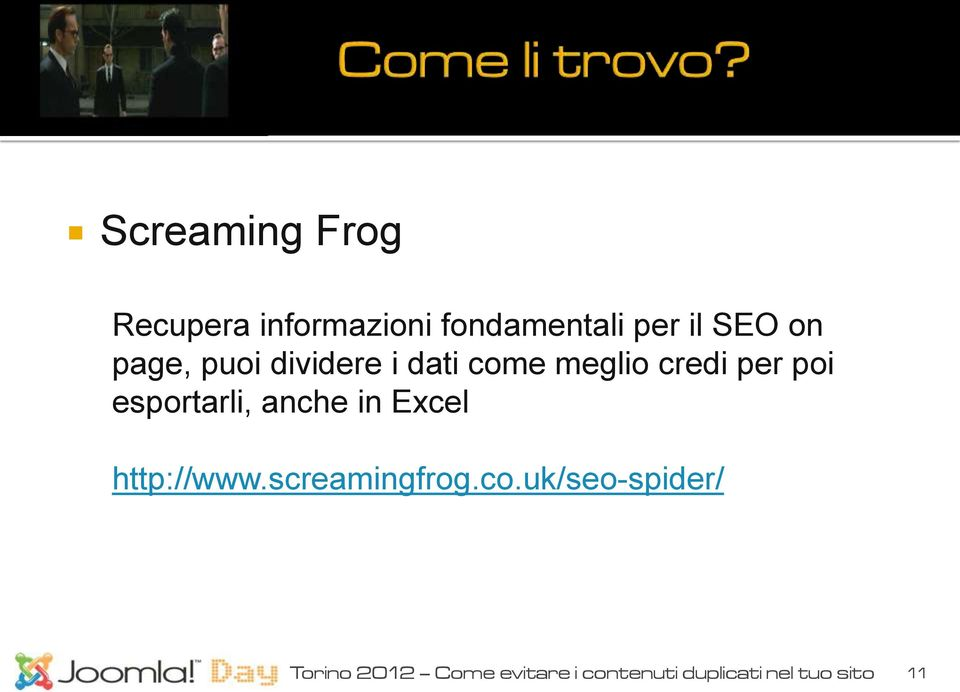 esportarli, anche in Excel http://www.screamingfrog.co.