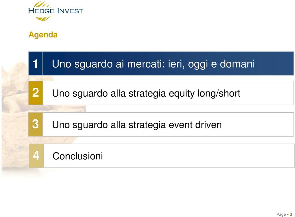 strategia equity long/short 3 Uno