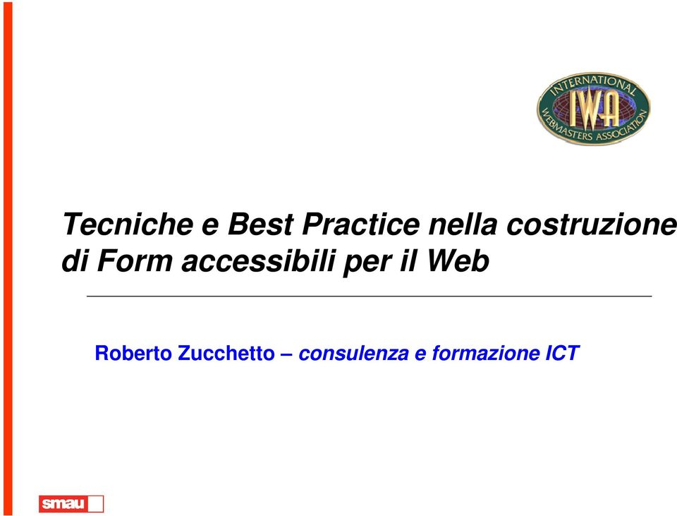 accessibili per il Web