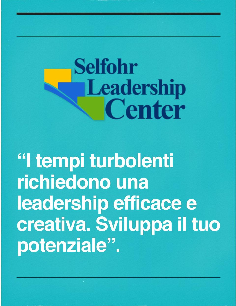 leadership efficace e