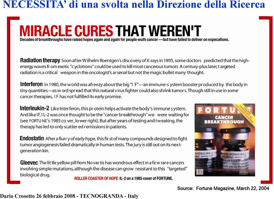 Ricerca Source: Fortune