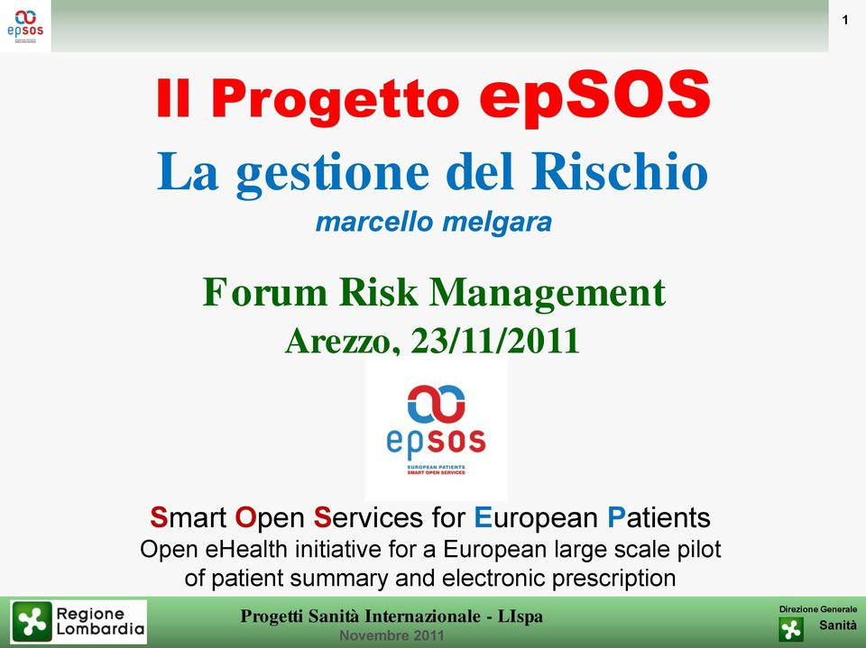 for European Patients Open ehealth initiative for a European