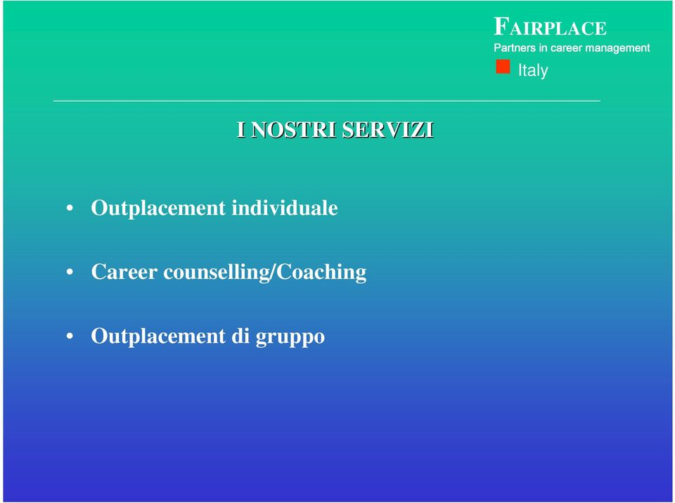 individuale Career