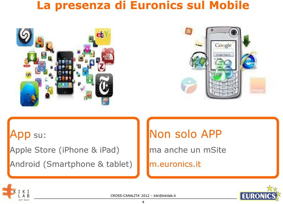 (iphone & ipad) ma anche un msite