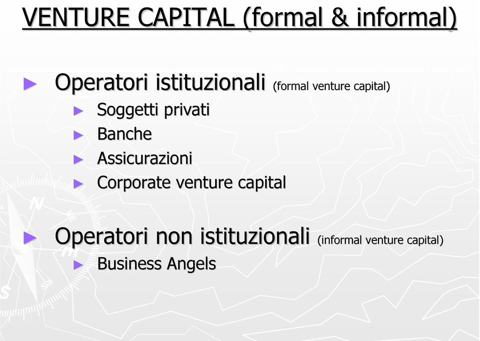 Assicurazioni Corporate venture capital formal venture