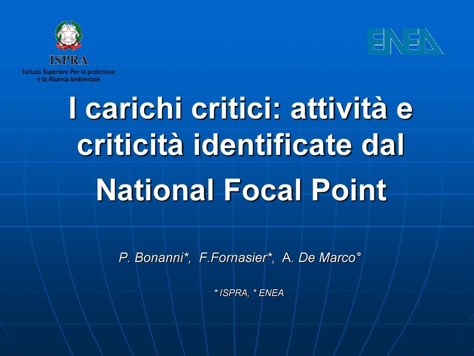 National Focal Point P.