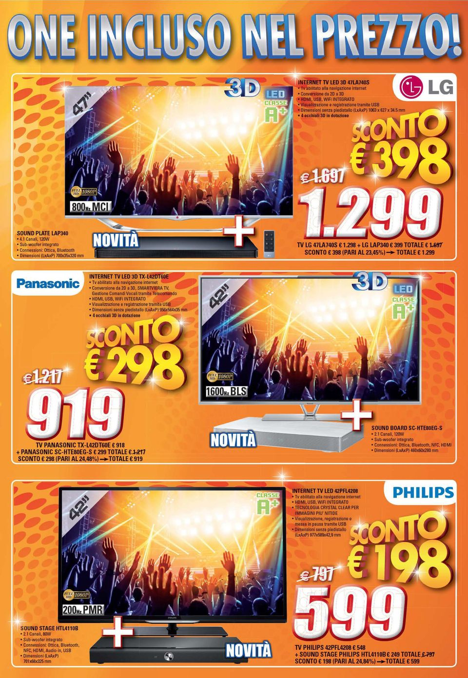 299 Panasonic INTERNET TV LED 3D...-L.
