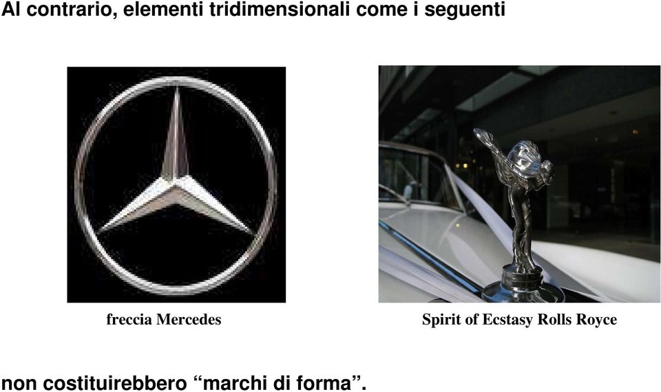 freccia Mercedes Spirit of Ecstasy