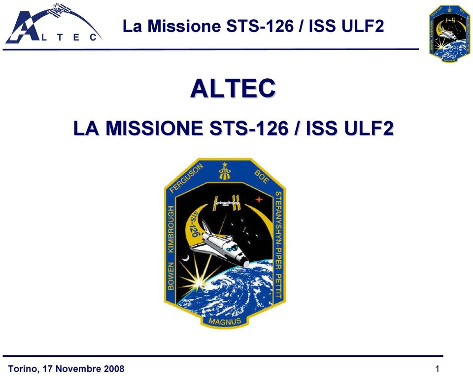 STS-126 / ISS