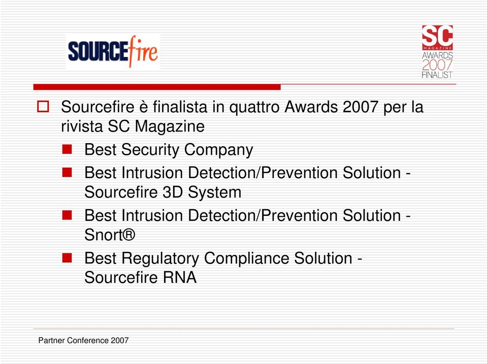 Solution - Sourcefire 3D System Best Intrusion