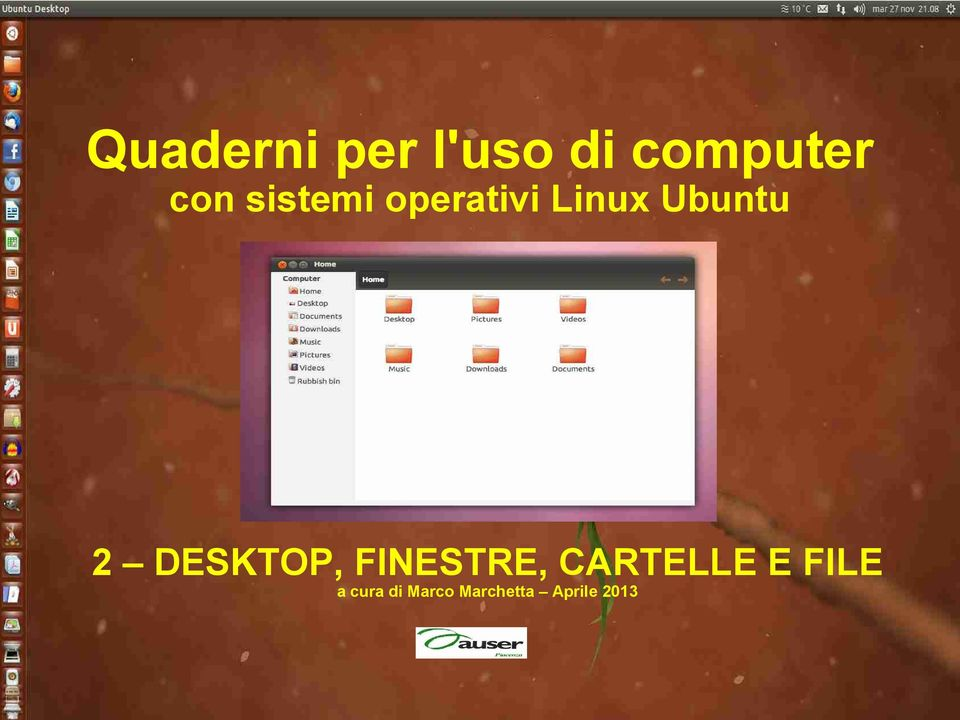 DESKTOP, FINESTRE, CARTELLE E FILE