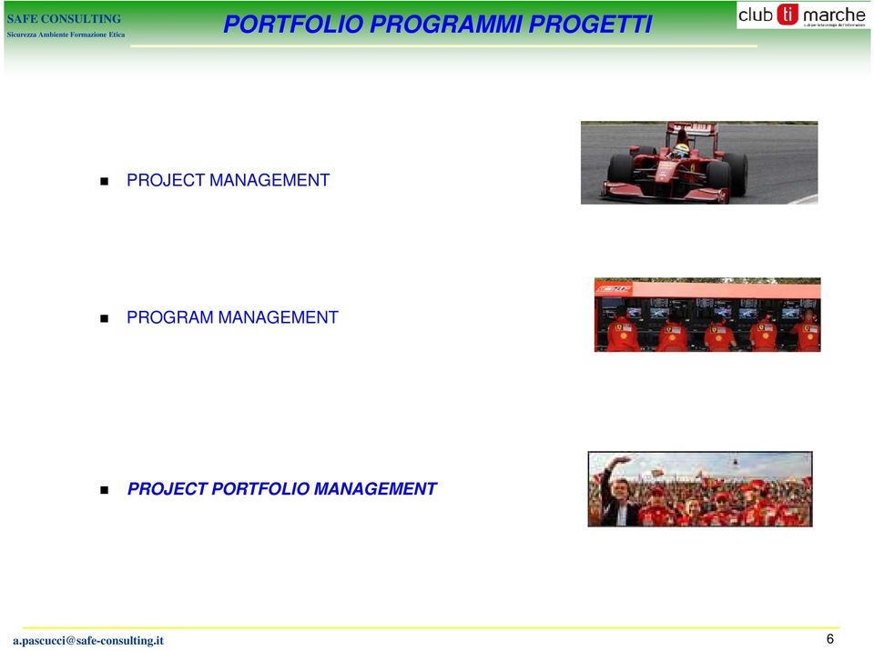 MANAGEMENT PROJECT PORTFOLIO