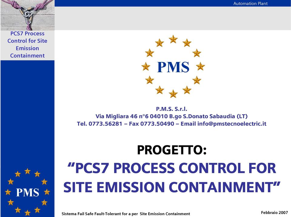 50490 Email info@pmstecnoelectric.
