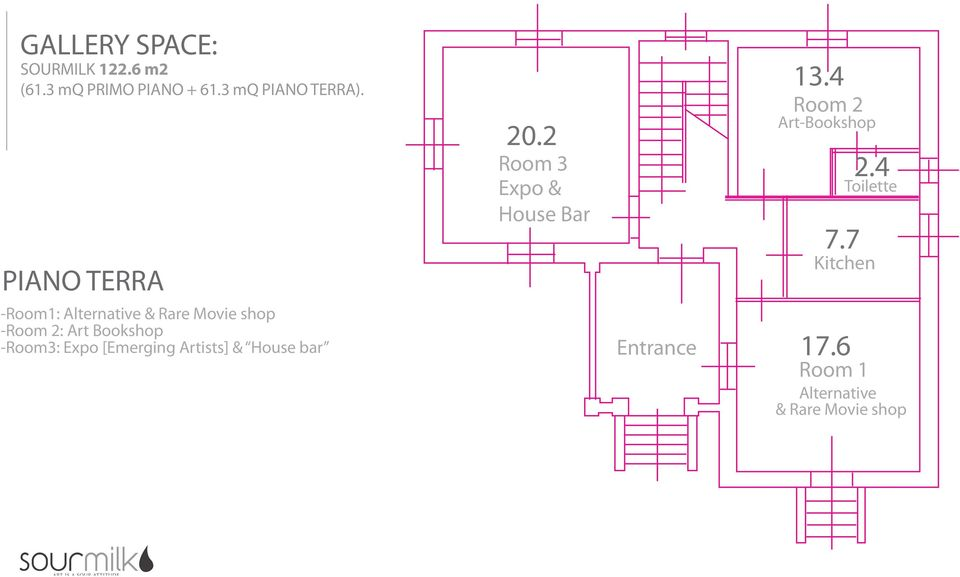Expo [Emerging Artists] & House bar 20.2 Room 3 Expo & House Bar Entrance 13.