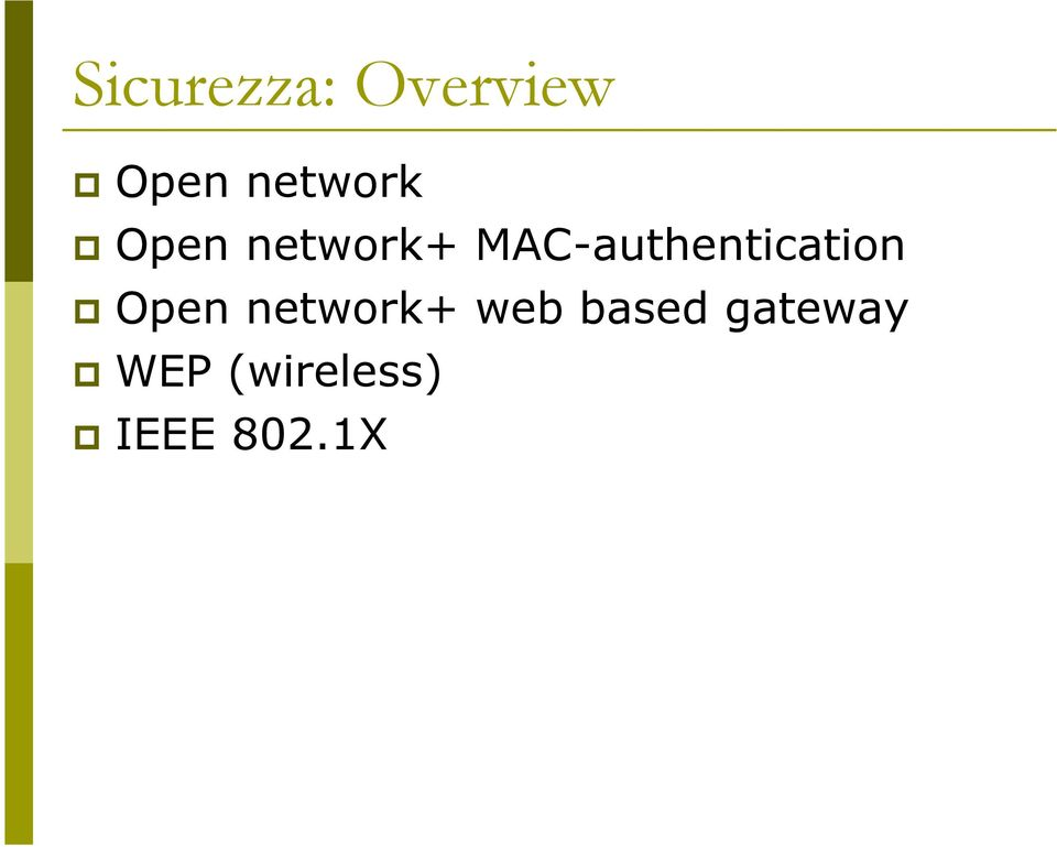 MAC-authentication Open