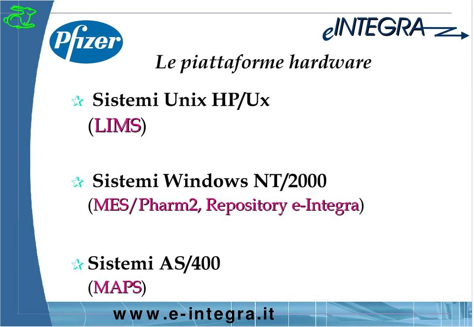 Windows NT/2000 (MES/Pharm2,