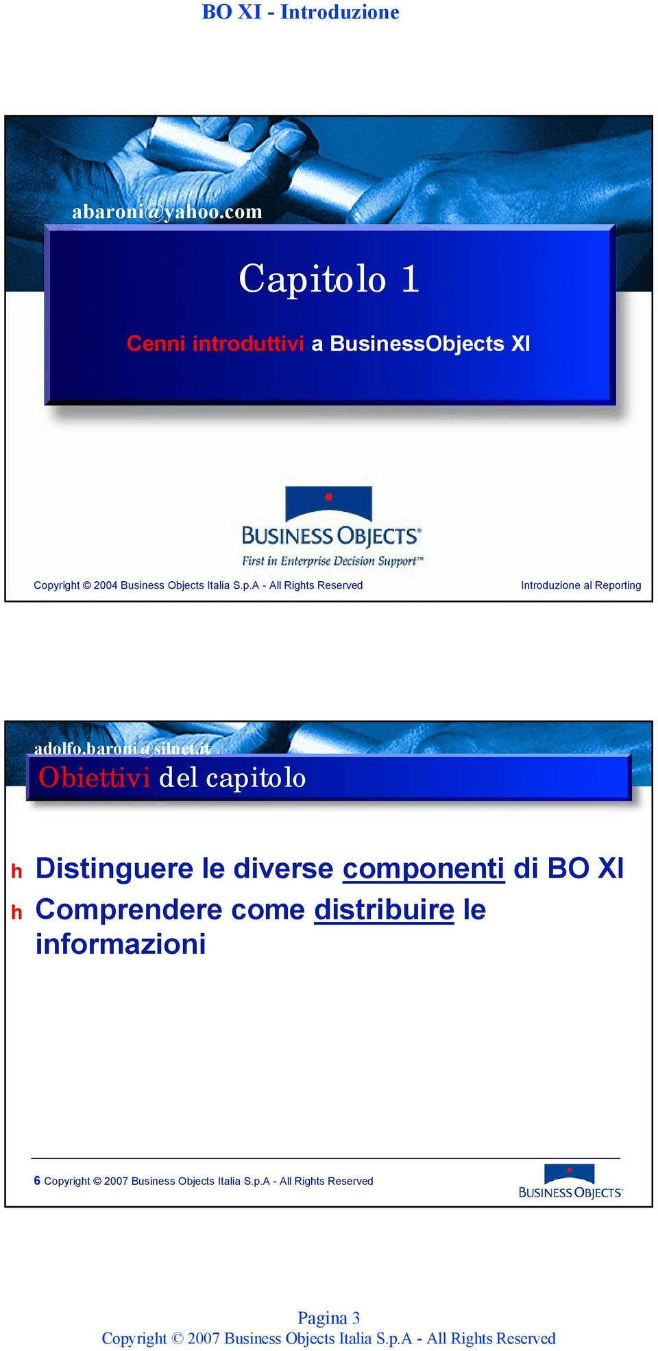 Business Objects Italia S.p.