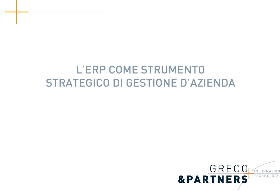STRATEGICO DI