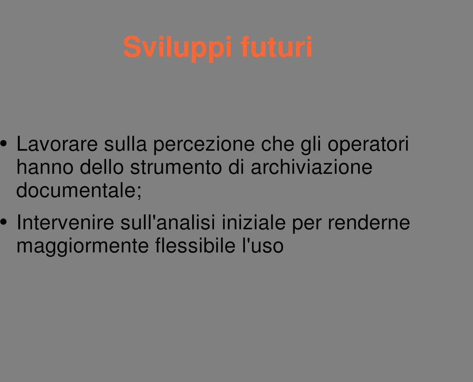 archiviazione documentale; Intervenire