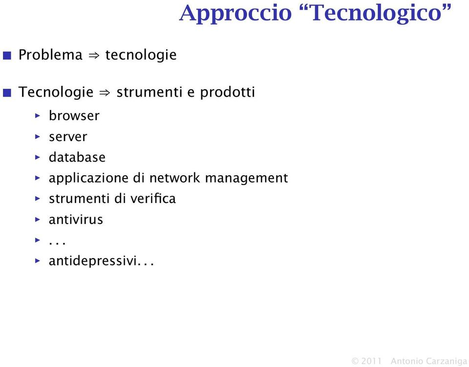 di network management strumenti di verifica