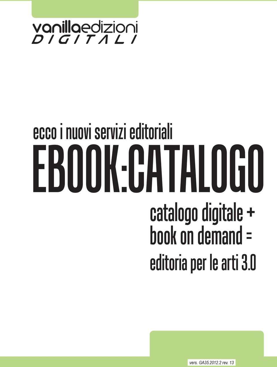 book on demand = editoria per le