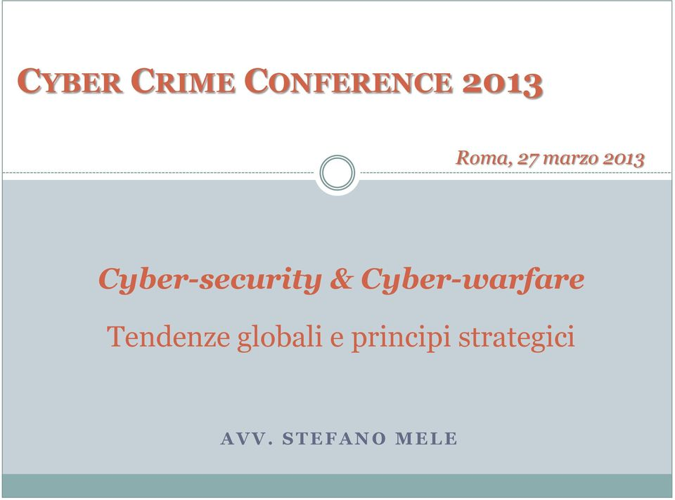Cyber-security &