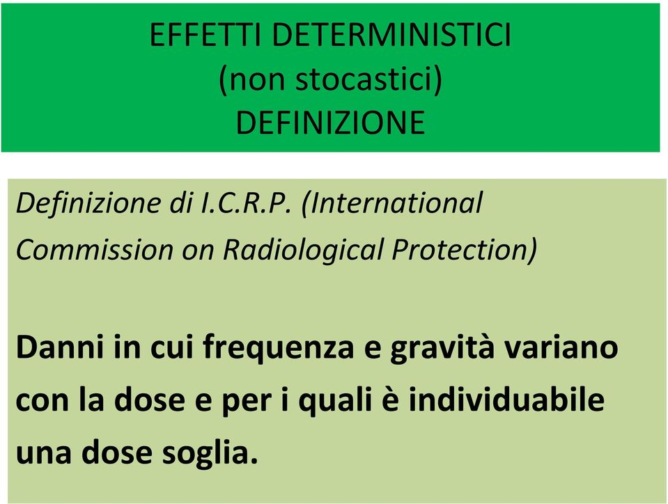 (International Commission on Radiological Protection)