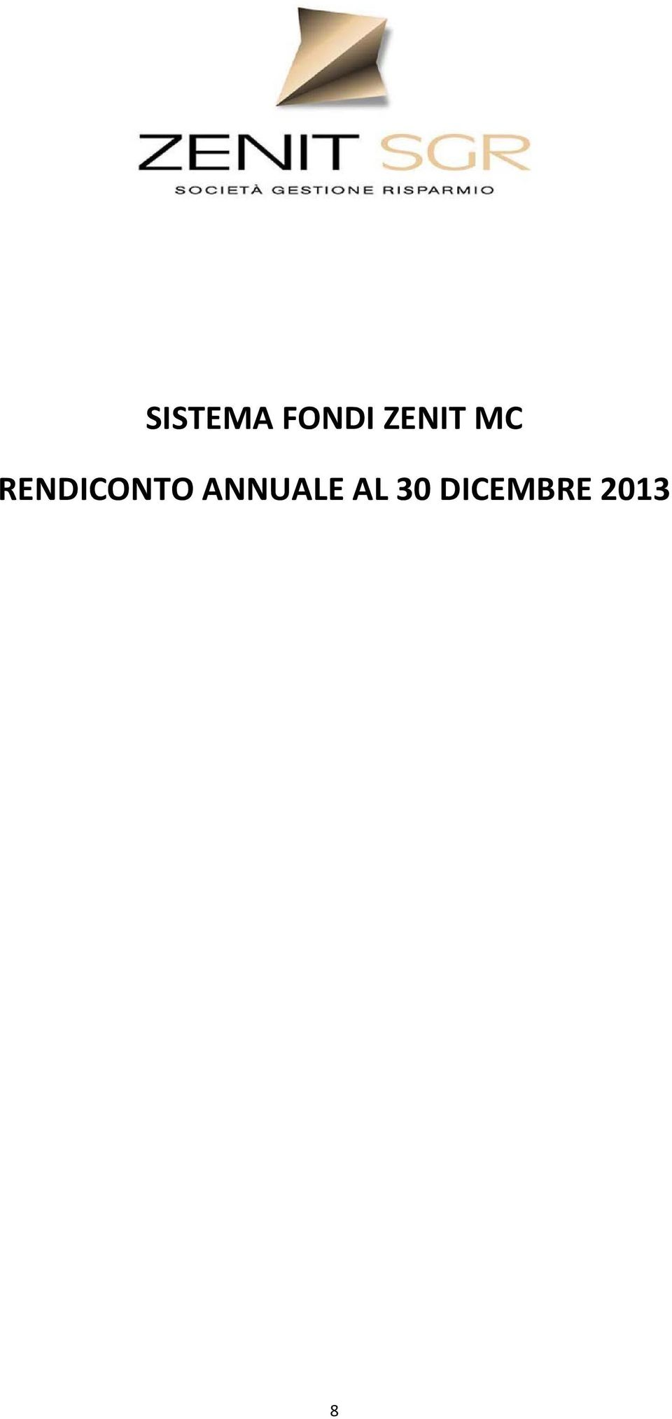 RENDICONTO
