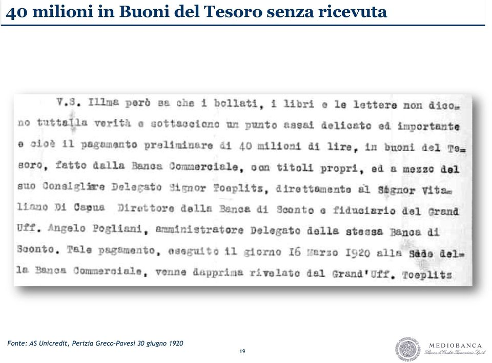 Fonte: AS Unicredit,