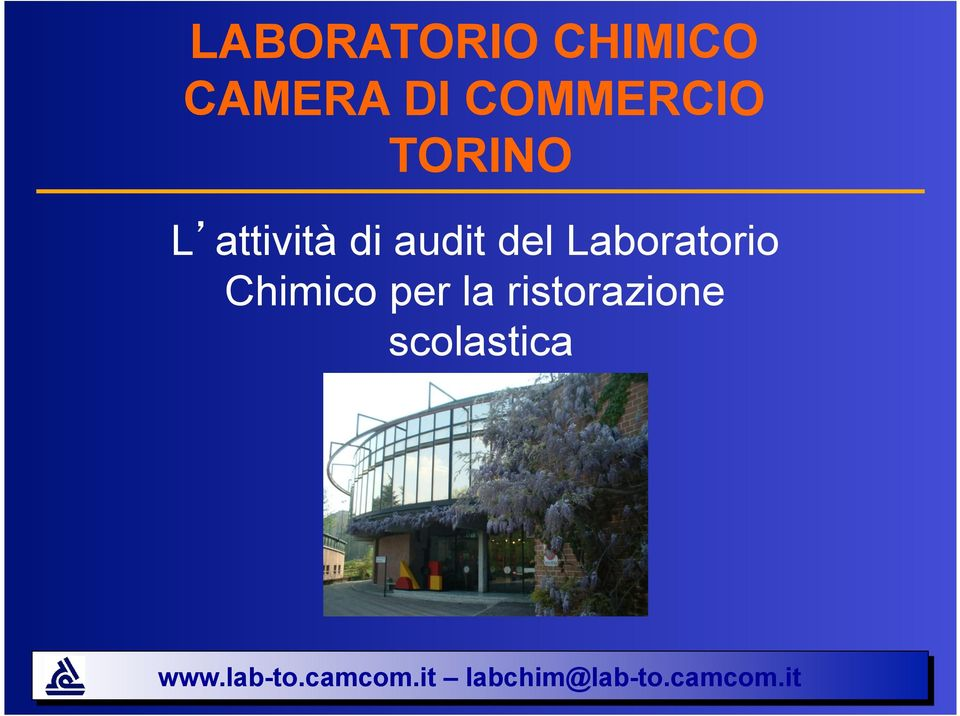 audit del Laboratorio Chimico