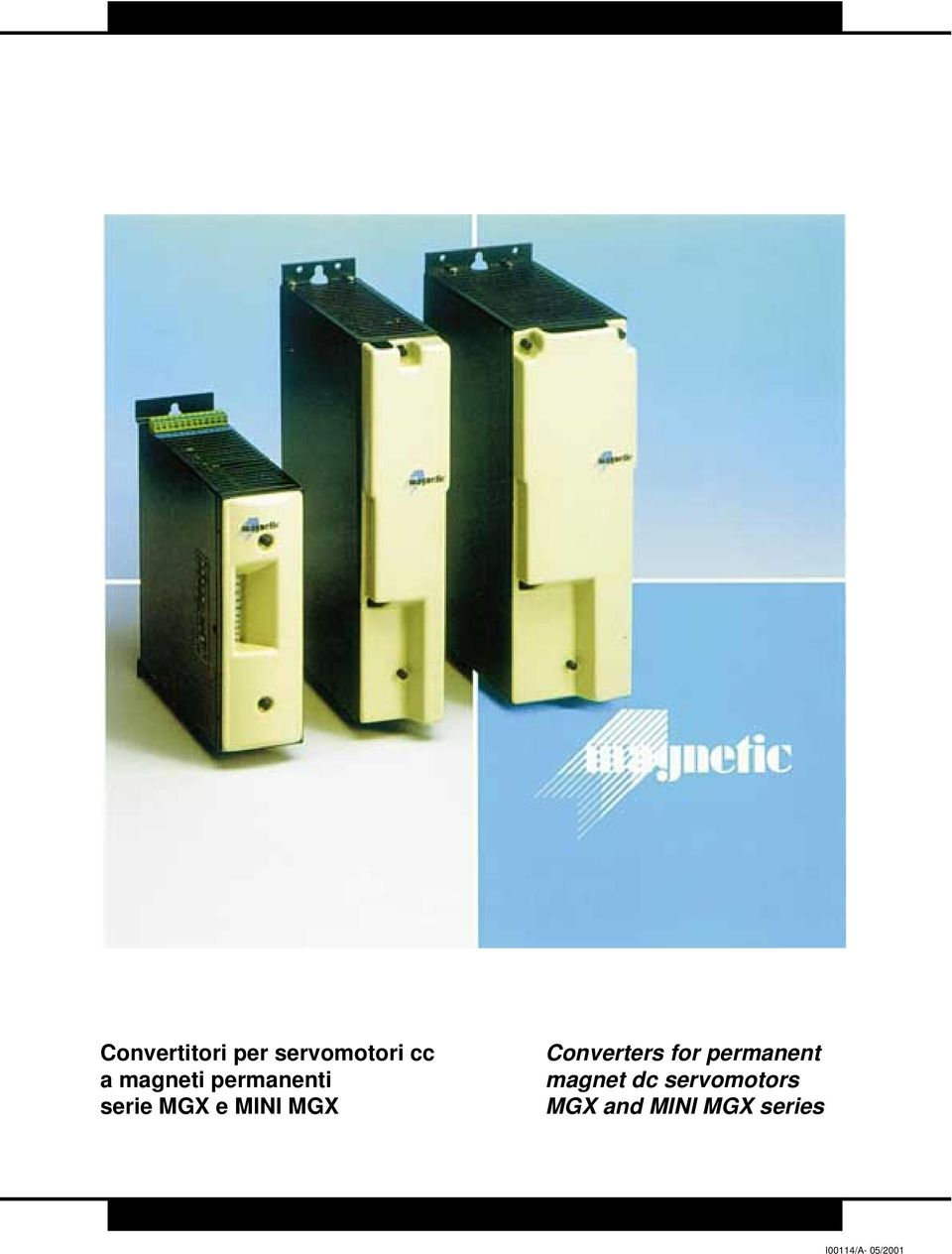 Converters for permanent magnet dc