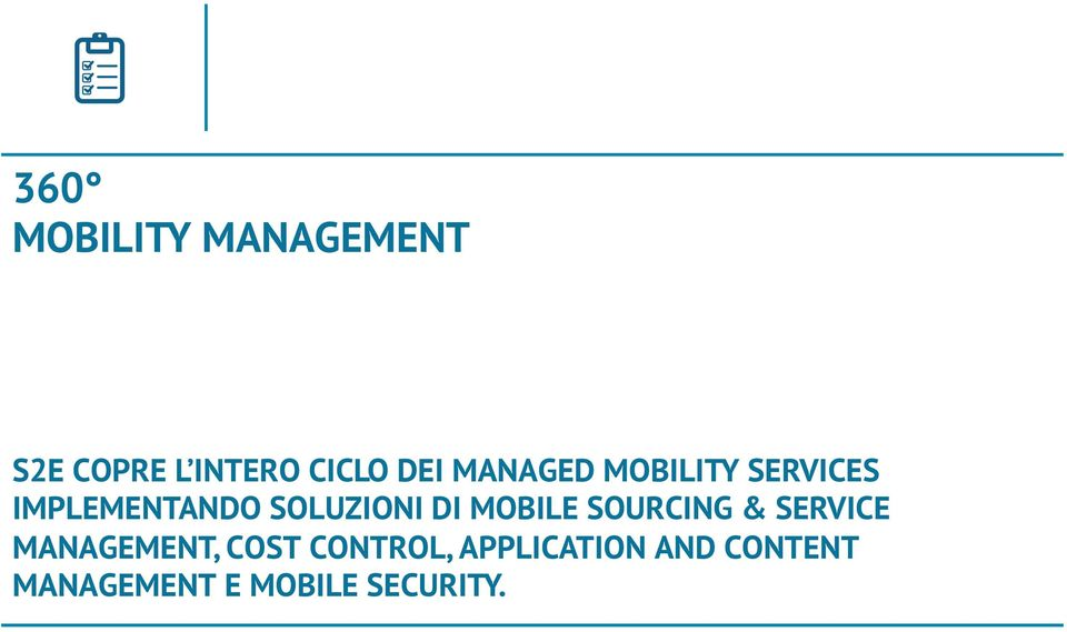 MOBILE SOURCING & SERVICE MANAGEMENT, COST CONTROL,