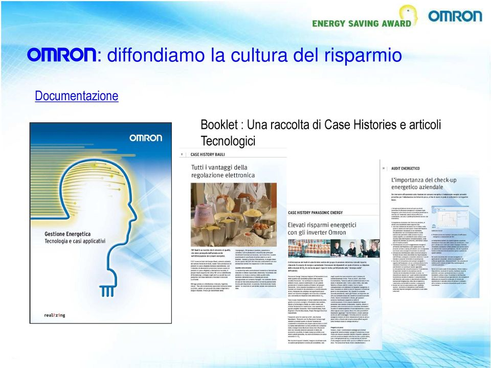 Booklet : Una raccolta di Case