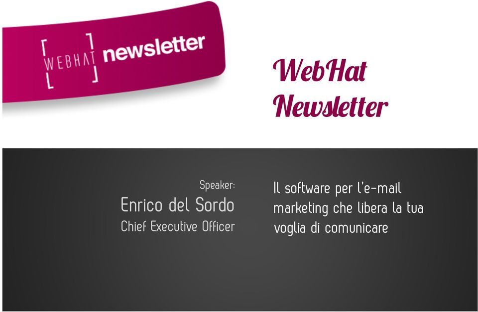 Il software per l e-mail marketing