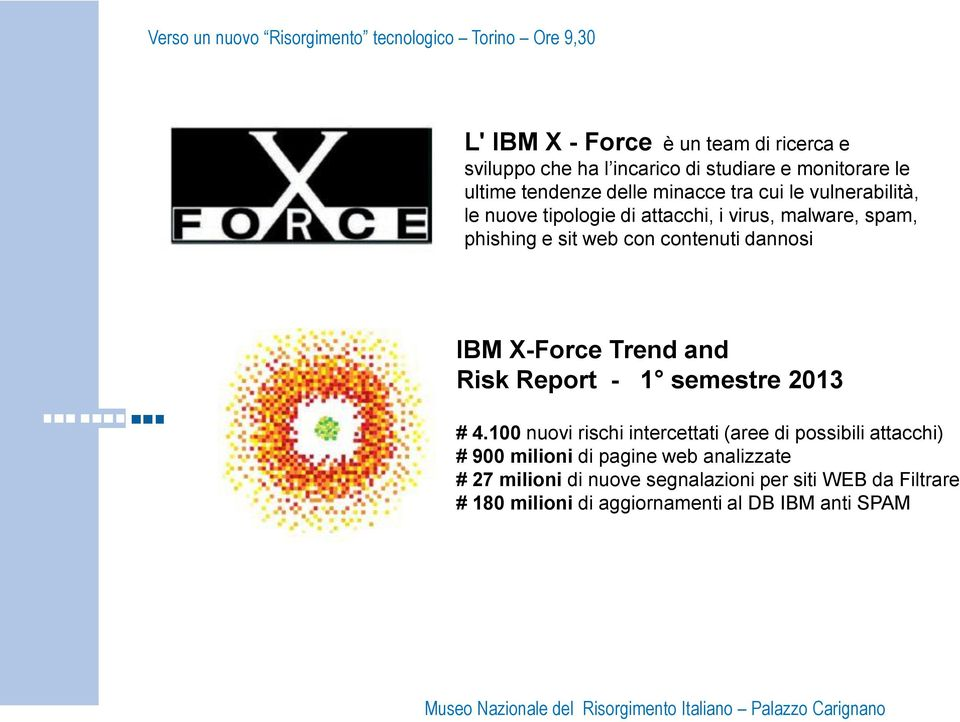 X-Force Trend and Risk Report - 1 semestre 2013 # 4.