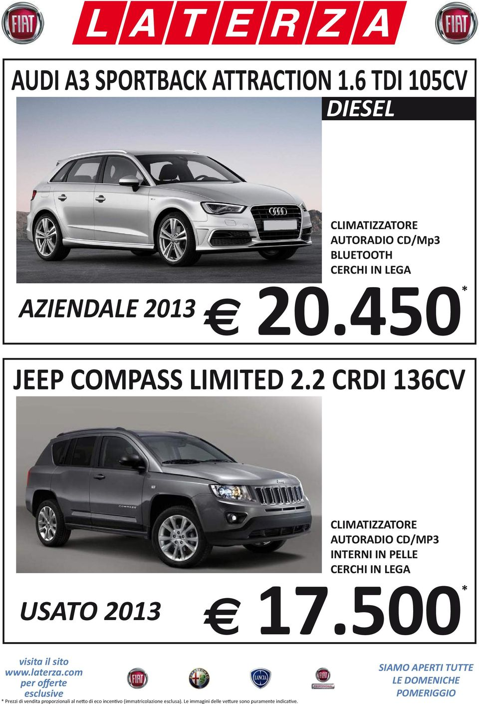 450* JEEP COMPASS LIMITED 2.