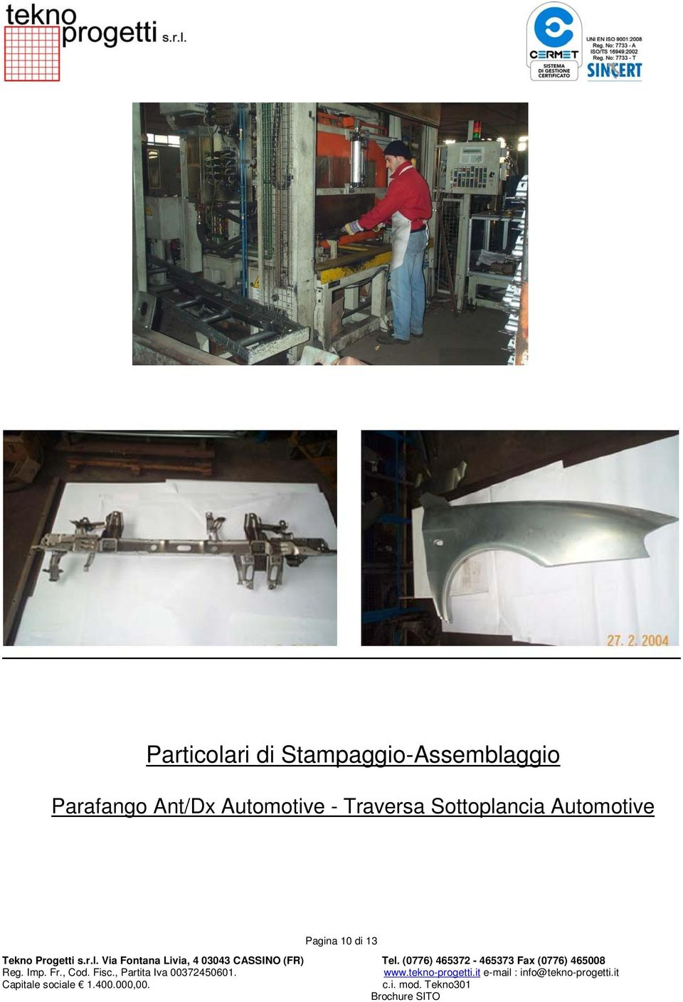 Parafango Ant/Dx Automotive -