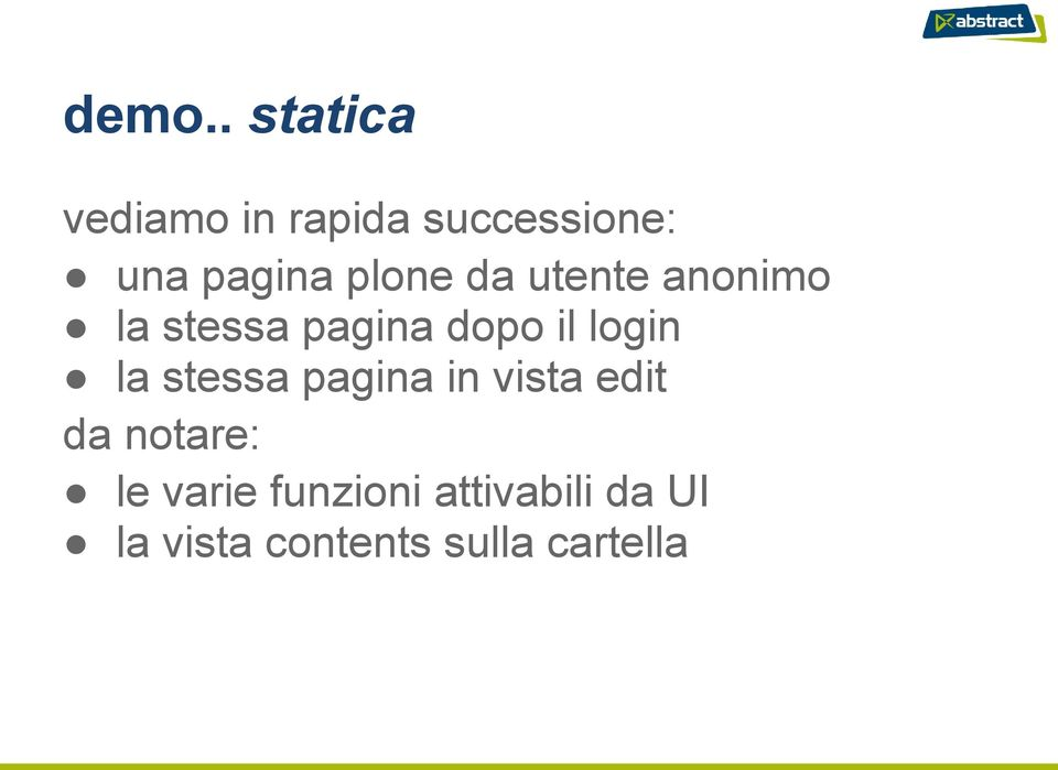 login la stessa pagina in vista edit da notare: le
