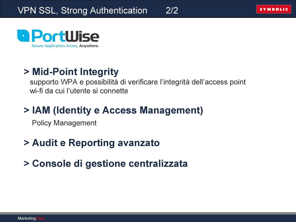 l utente si connette > IAM (Identity e Access Management) Policy