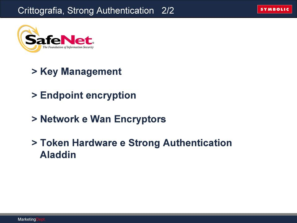 encryption > Network e Wan Encryptors