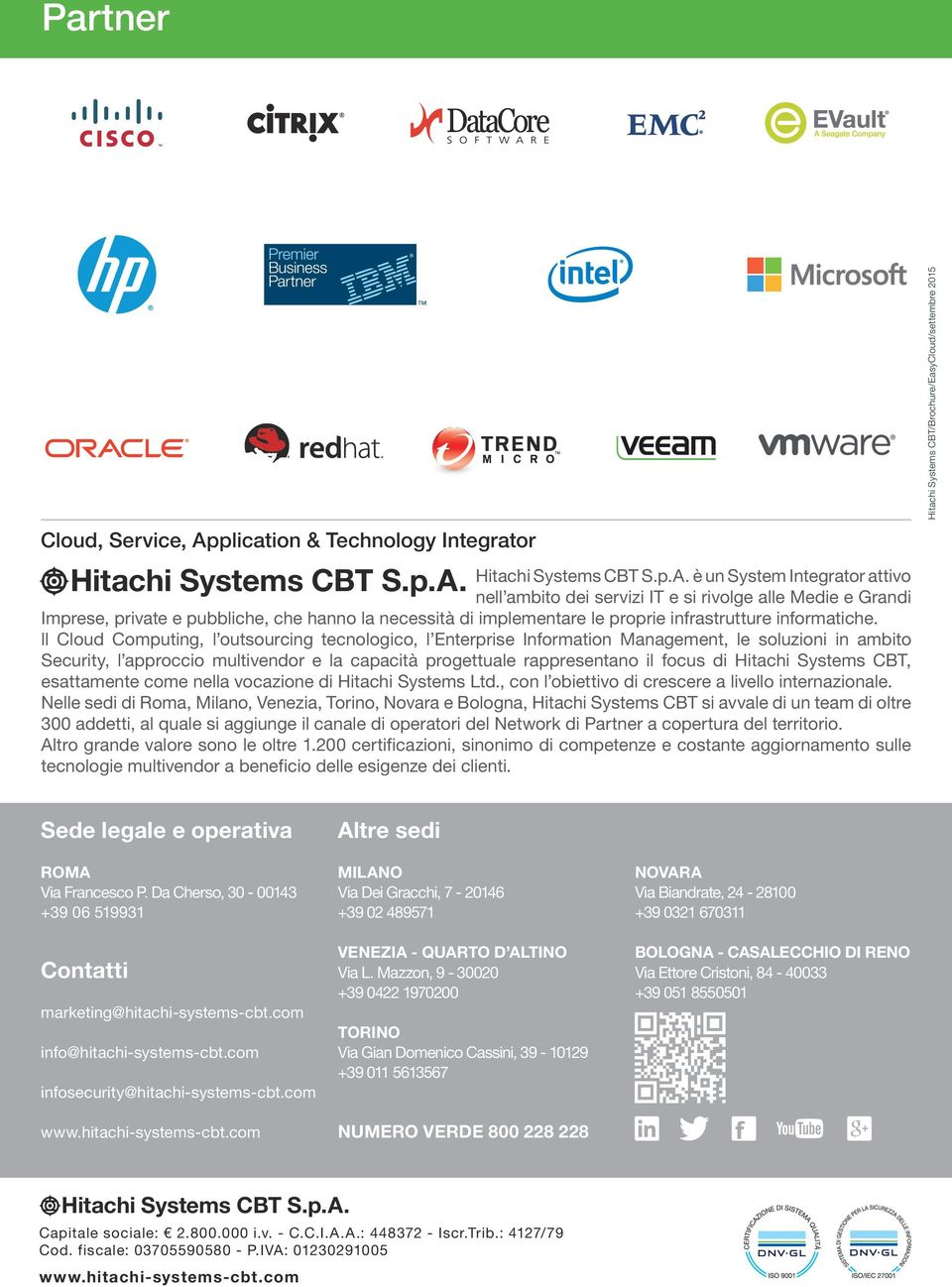 Hitachi Systems CBT S.p.A.